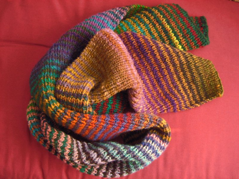 The Knitting Pirate Archive For Stripey Striped Scarf