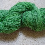 Ellen's Halfpint Farm Yarn, Very Green