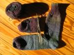 Handspun BFL Sock