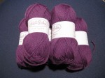 Swish Worsted in Amethyst Heather