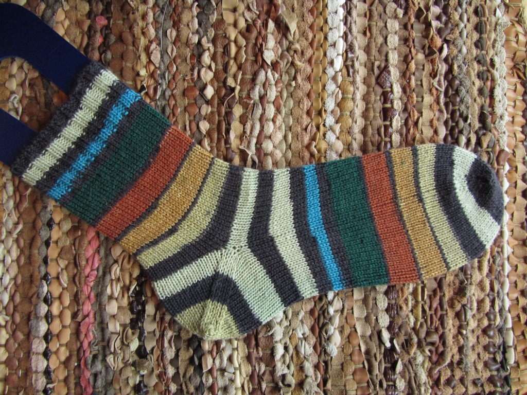 Rusty Stripes Sock