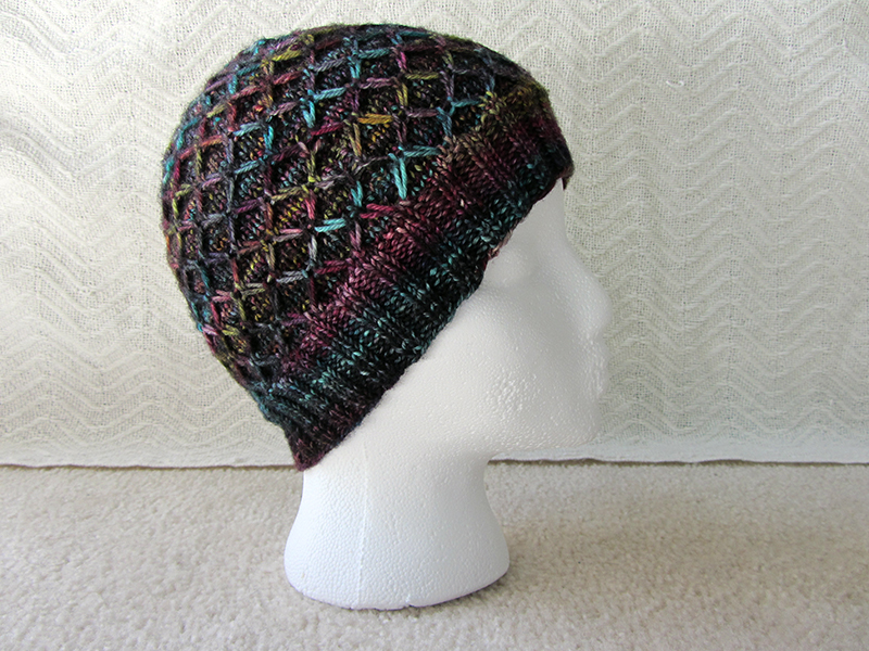 Slip Stitch Knit Hat Pattern : The Knitting Pirate   Acres Wild Hat