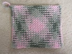 Pink Camo Washcloth