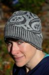 KnittingPirate wearing the Crossing Trails Hat