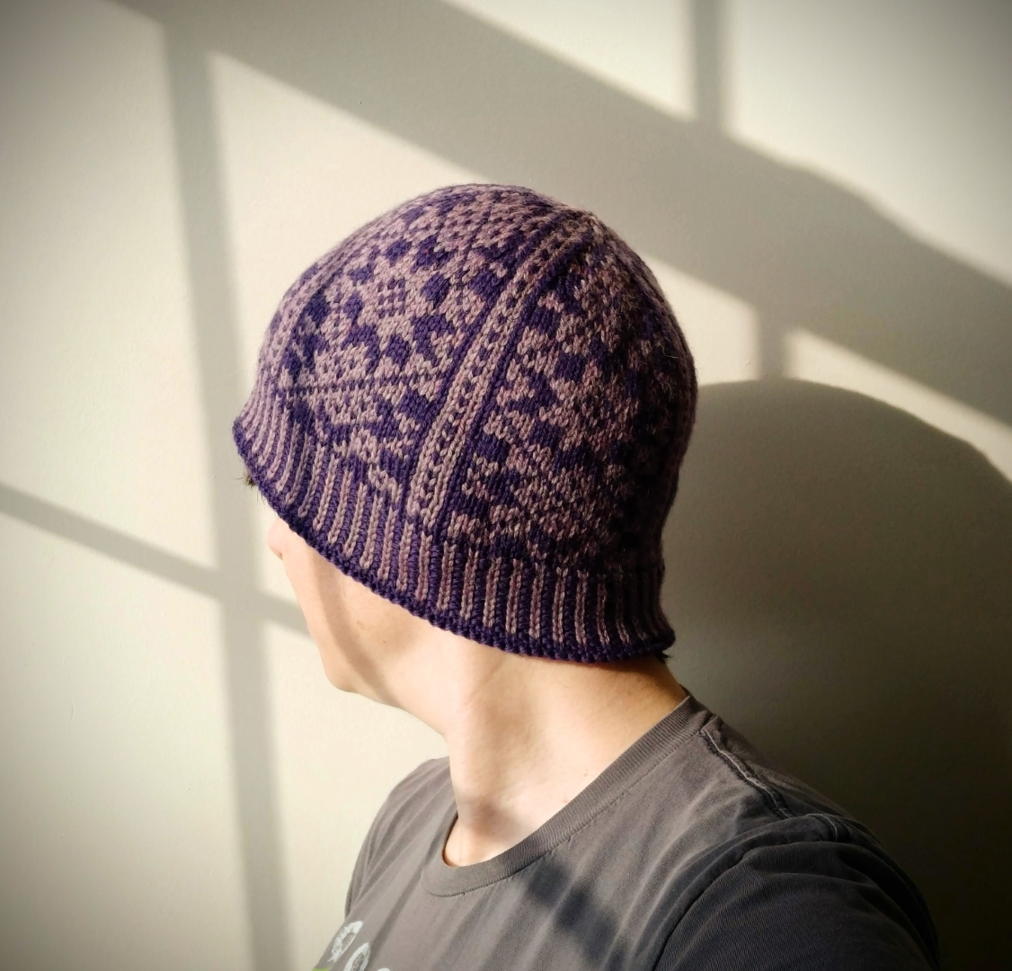 Hollis Hills Hat, modeled